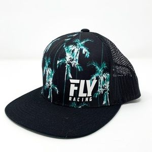 Fly Racing | Mens Flat Brim Snap Back Hat OS